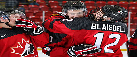 Blaisdell Leads Team Canada West to Second Win - Chilliwack Chiefs